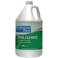 TOL505917 - Theochem Laboratories Professional Basics Pine Cleaner; Pine Scent; 1 gal Bottle; 4/Carton