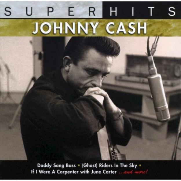Johnny Cash ~ Super Hits, Vol. 2 (new)