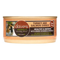 Dave's Pet Food Dave's Cat Food Grain-Free Turkey & Salmon Dinner