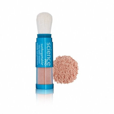 Colorescience Sunforgettable Mineral Powder Brush SPF 30 Shimmer 0.21 oz.