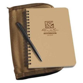 Rite In The Rain Notebook Kit,4-5/8 in x 7 in Sheet,32lb Model: 973T-KIT