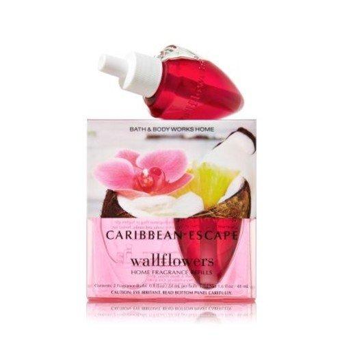 Wallflowers Home Fragrance Refills Wallflowers 2-pack Refills Caribbean Escape Fragrance Bulbs (1.6 Fl Oz. Total)