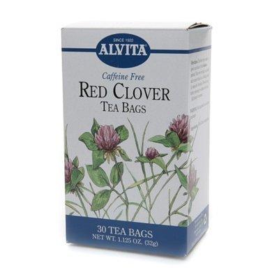 Alvita Caffeine Free Red Clover Tea Bags Red Clover Leaf