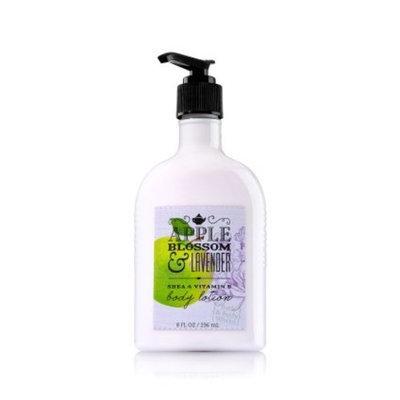 Bath & Body Works Apple Blossom & Lavender Body Lotion 8 Oz.