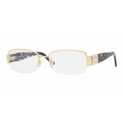 VERSACE Eyeglasses VE 1175B 1002 Gold 53MM