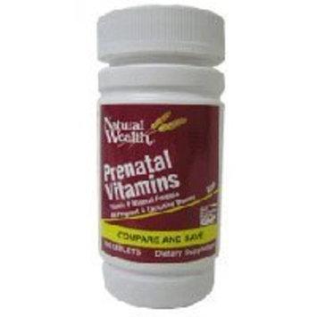 Natural Wealth PRENATAL FORMULA TABS NAT/WL Size: 100