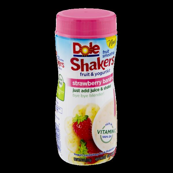 Dole Shakers Strawberry Banana Fruit & Yogurt Smoothie