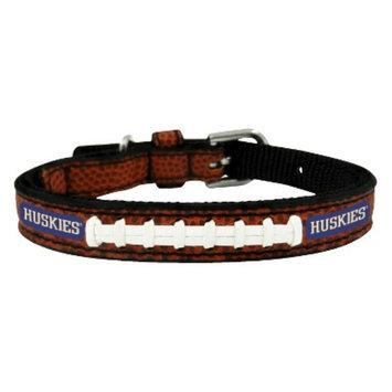 GameWear Washington Huskies Classic Leather Toy Football Collar