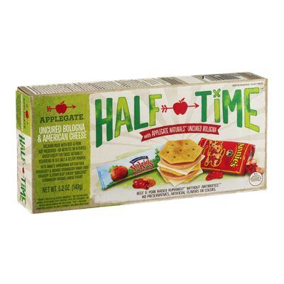 Applegate Half Time Uncured Bologna & American Cheese