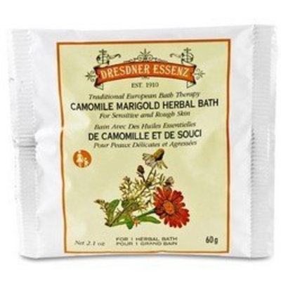 Dresdner Essenz Camomile Marigold 2.1 Oz Bath Powder