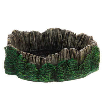National GeographicTM Rainforest Log Reptile Bowl