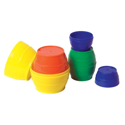 Guidecraft 16900 Stack 'N Sort Barrels