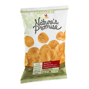 Nature's Promise Natural Barbecue Popped Chips