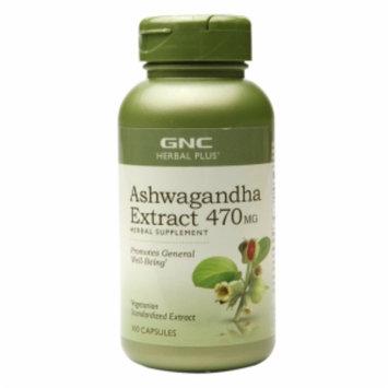 Gnc Herbal Plus Formula GNC Herbal Plus Ashwagandha Extract 470mg