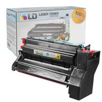 LD Compatible High Yield Yellow Laser Toner Cartridge for Lexmark 10B042Y