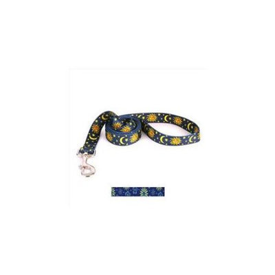 Yellow Dog Design TEF105LD Teal Flowers Lead - 3/4 in. x 60 in.