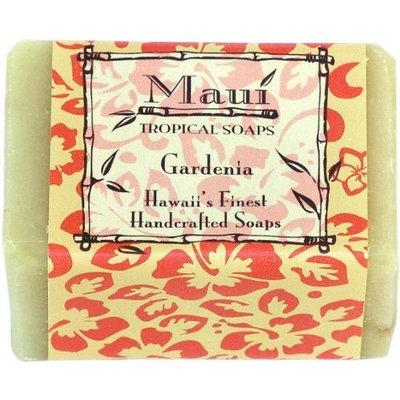 Maui Tropical Soaps Traditional Hawaiian Soap Gardenia, 5-Ounce (Pack of 3)