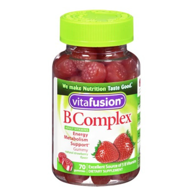 Vitamins For Energy >> Vitafusion B Complex Energy Gummy Vitamins