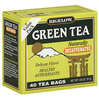 Bigelow Green Tea Bags Decaffeinated Value Pack