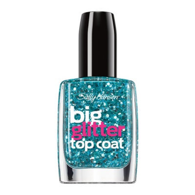 Sally Hansen Big Glitter Top Coat - Blue Moonlight