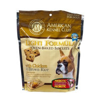 American Kennel Club AKC Light Formula Oven-Baked Biscuits with Chicken and Brown Rice