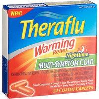 Theraflu Nighttime Multi-Symptom Cold, 24-Count Coated Caplets (Pack of 2)