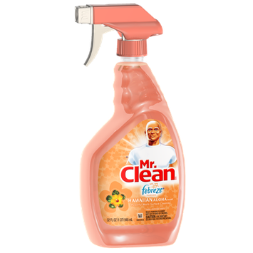 Mr Clean with Febreze Freshness Hawaiian Aloha Scent Multipurpose Cleaner Spray 32 Fl Oz