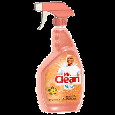 Mr Clean with Febreze Freshness Hawaiian Aloha Scent Multipurpose Cleaner Spray 32 Fl Oz
