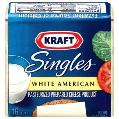 Kraft Singles White American Cheese Slices 16 ct