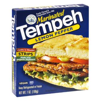 Turtle Island Foods Lemon Pepper Marinated Tempeh