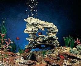 Penn Plax Cliffs and Caves Replica Aquarium Rocks
