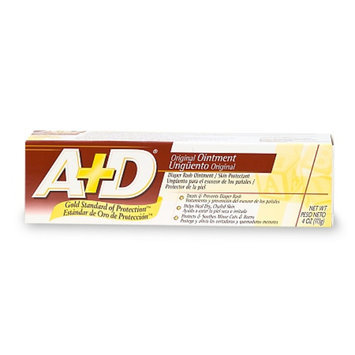 A+D Diaper Rash Ointment & Skin Protectant
