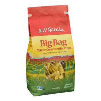 RW Garcia Tortilla Chips Yellow Corn Big Bag