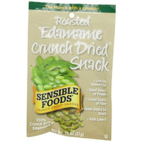 Sensible Foods Roasted Edamame Crunch Dried Snack, Lunch box size, 0.75-Ounce (Pack of 24)
