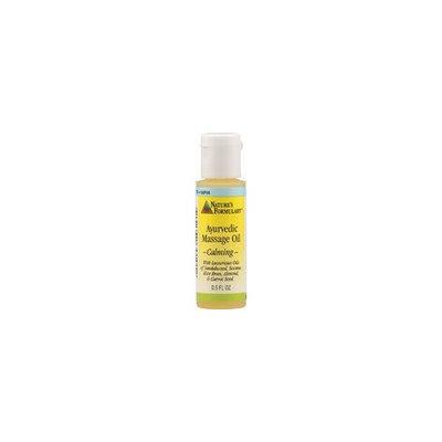 NATURE'S FORMULARY Ayurvedic Massage Oil Calming 0.5 OZ