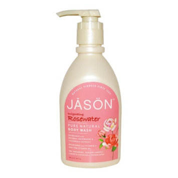 Jason Natural Cosmetics Satin Shower Body Wash Glycerine & Rosewater