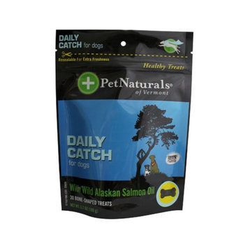 Pet Naturals Daily Catch Dog Treats with Wild Alaskan Salmon Oil