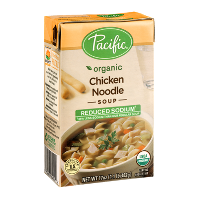 Pacific Organic Reduced Sodium Chicken Noodle Soup