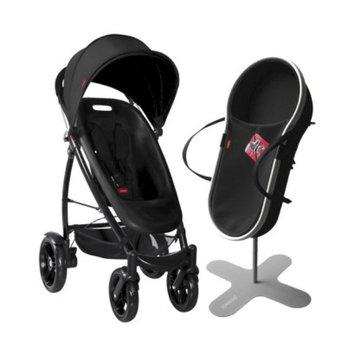 phil & teds Smart Bassinet and Stroller Bundle - Black