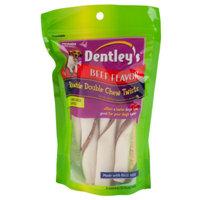 Dentley's Rawhide Double Chew Twists Dog Treats