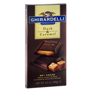 Ghirardelli Chocolate Dark & Caramel Chocolate