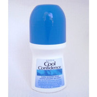 Cool Confidence Baby Powder Scent 1.7 Oz Roll-On Anti-Perspirant Deodorant by Avon