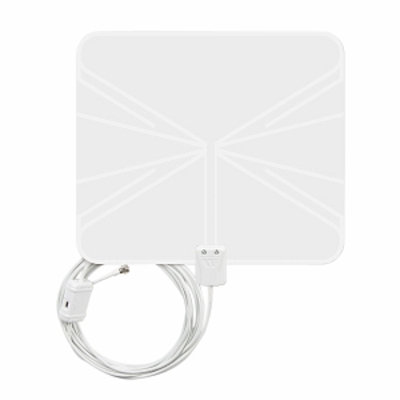 Winegard FL5500A FlatWave Amplified Razor Thin HDTV Indoor Antenna, 1 ea
