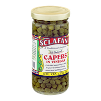 Sclafani Capers in Vinegar