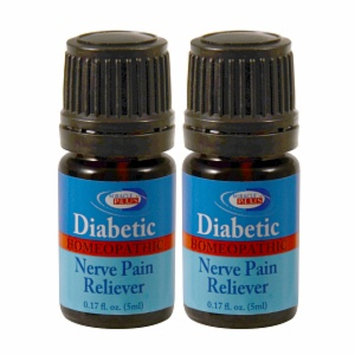 Concept Laboratories Miracle Plus Diabetic Homeopathic Nerve Pain Reliever, .17 oz