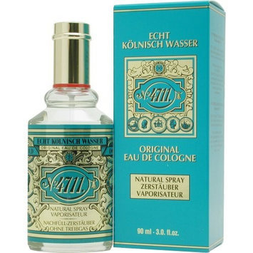 4711 by Muelhens Eau De Cologne Spray for Unisex, 3 Ounce