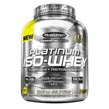 Muscletech Platinum 100% Iso-Whey Vanilla Ice Cream