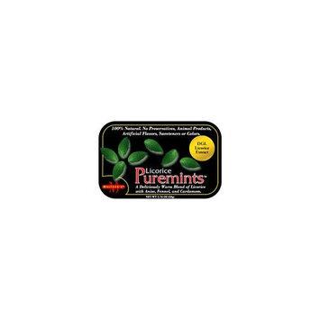 Meltzer's Puremints Licorice -- 1.76 oz
