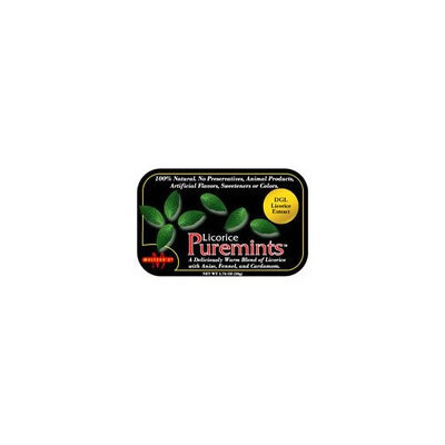 Meltzer's Puremints Licorice -- 1.76 oz