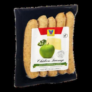 Vienna Havarti Cheese & Apple Chicken Sausage